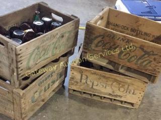 Wooden Crates 1 has Bottles