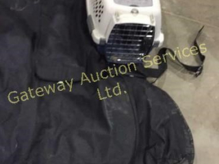 Small Pet Carrier and Pet Vehicle Seat Cover