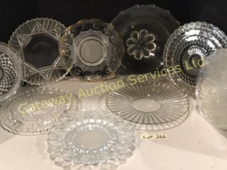 Serving Plates, Cake Plates, Bowl w/ Wide Rim