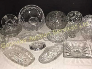 Crystal & Glass Bowls, Serving Dishes, BonBon Dish