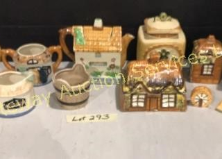Little House Tea Pots & Creams & Sugar