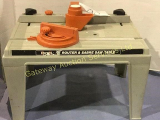 Hirsh Router & Sabre Saw Table