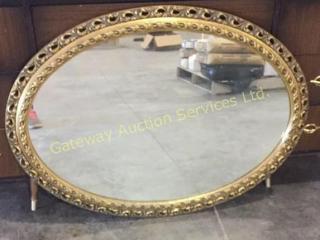 Vintage Mirror 36 x 24 Oval