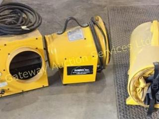 Pelsue Zumro Heater Axial Blower