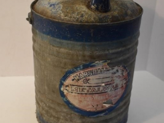 Marshall Wells Galvanized Gas Can *ST