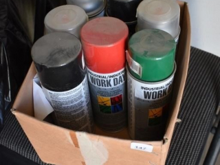 Misc. Paint (some in every can)