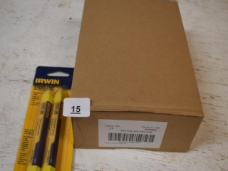 Case of 12 Irwin Yellow Wax Crayons *ST
