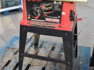 "Craftsman 10"" Table saw with fence and"