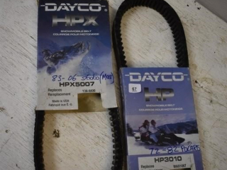 2 Dayco Snowmobile Belts *ST