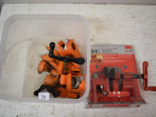 Assorted Pipe Clamps *ST