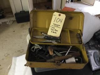 Tool box and tools