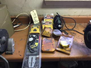 Chainsaw blades and sharpeners