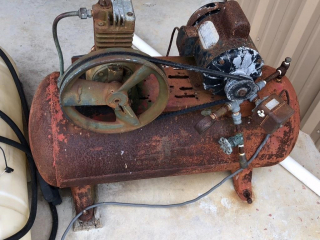 Old Electric Air Compressor