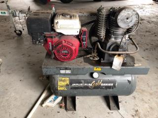 Gas Air Compressor 13 hp