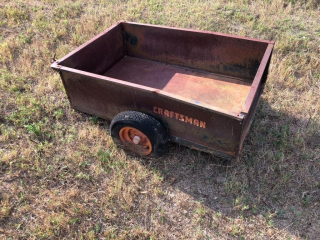 Craftsman Lawnmower Trailer