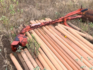 Post Hole Digger Without Auger