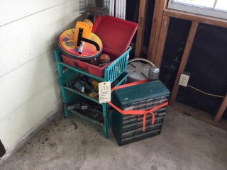 Miscellaneous hardware lot