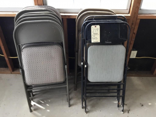 Folding chair lot