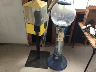 2 Vending machines