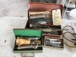 Vintage vet supplies
