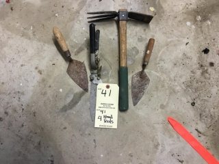 4 hand tools