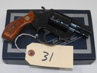 (CR) Smith & Wesson 36 38 SPL Revolver