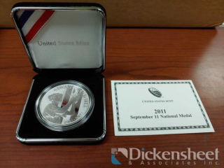 2011 Silver Dollar September 11th