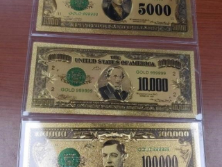 (3) Series 1928 Gold Bills