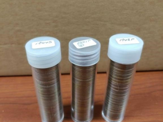 (3) Rolls of Wheat Pennies including