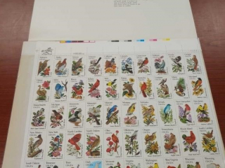 50 State Bird and Flower Stamp