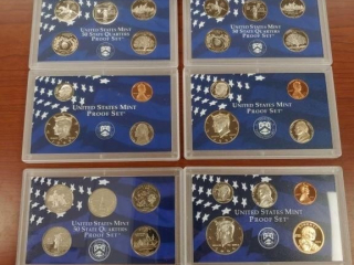 (2) 1999 Proof Sets and (1) 2000 Set.