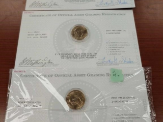 (3) 2007 A Grade Never Circulated