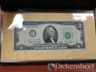 1976 $2.00 Bicentennial Commemorative