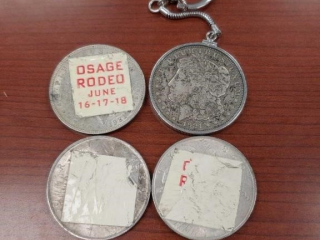 (3) Silver Eagle $1 Coins and a 1921