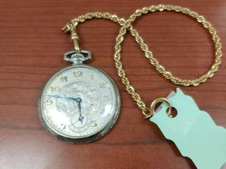 Gruen Verithin pocket watch with