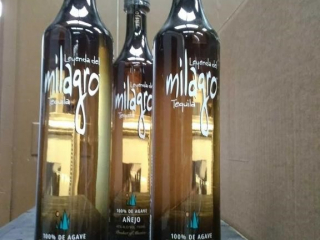 Milagro tequila as follows: