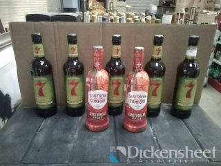 Seagrams/Southern Comfort lot: