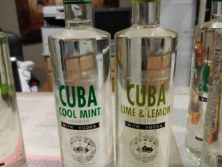 (2) Bottles of Cuba Liqueur with