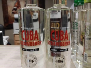 (2) Bottles of Cuba Strawberry Liqueur