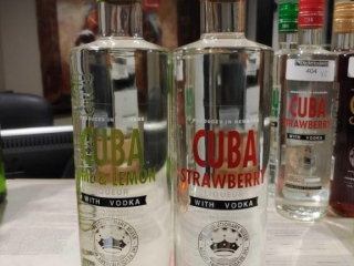 (2) Bottles of Cuba Liqueur with Vodka