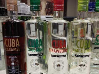 (4) 750ml Bottles of Cuba Liqueur