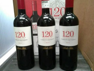 120 Cabernet Sauvignon as follows: