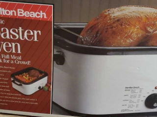 18 qt Roaster oven probaly new