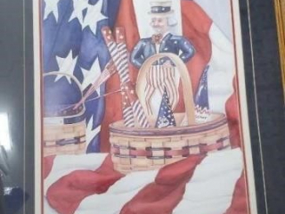 Uncle sam print limited edition 187/400
