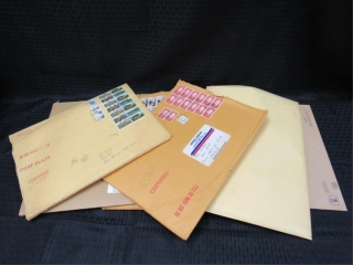 (qty - 6) Envelopes of Stamps-