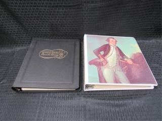 Captain Cook & Winston Churchill Stamp Albums-