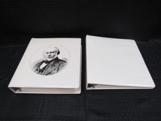 Princess Diana & Sir Rowland Hill Stamp Albums-