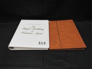 Princess Anne & Misc. Stamp Albums-