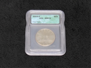2003-P First Flight Half Dollar ICG MS70-