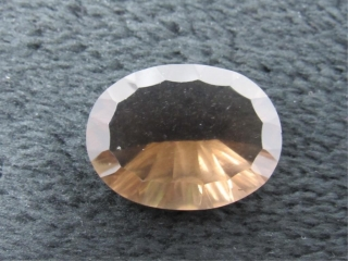 Smokey Quartz Oval Gemstone-